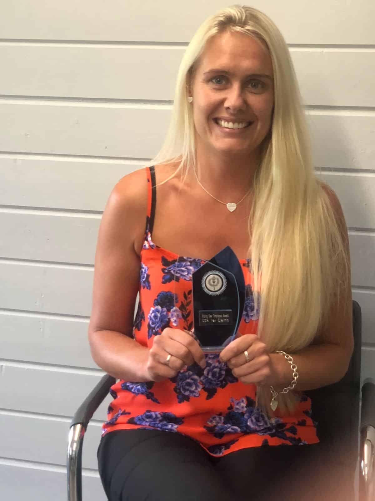 Caylee Thomas May 2018 Winner