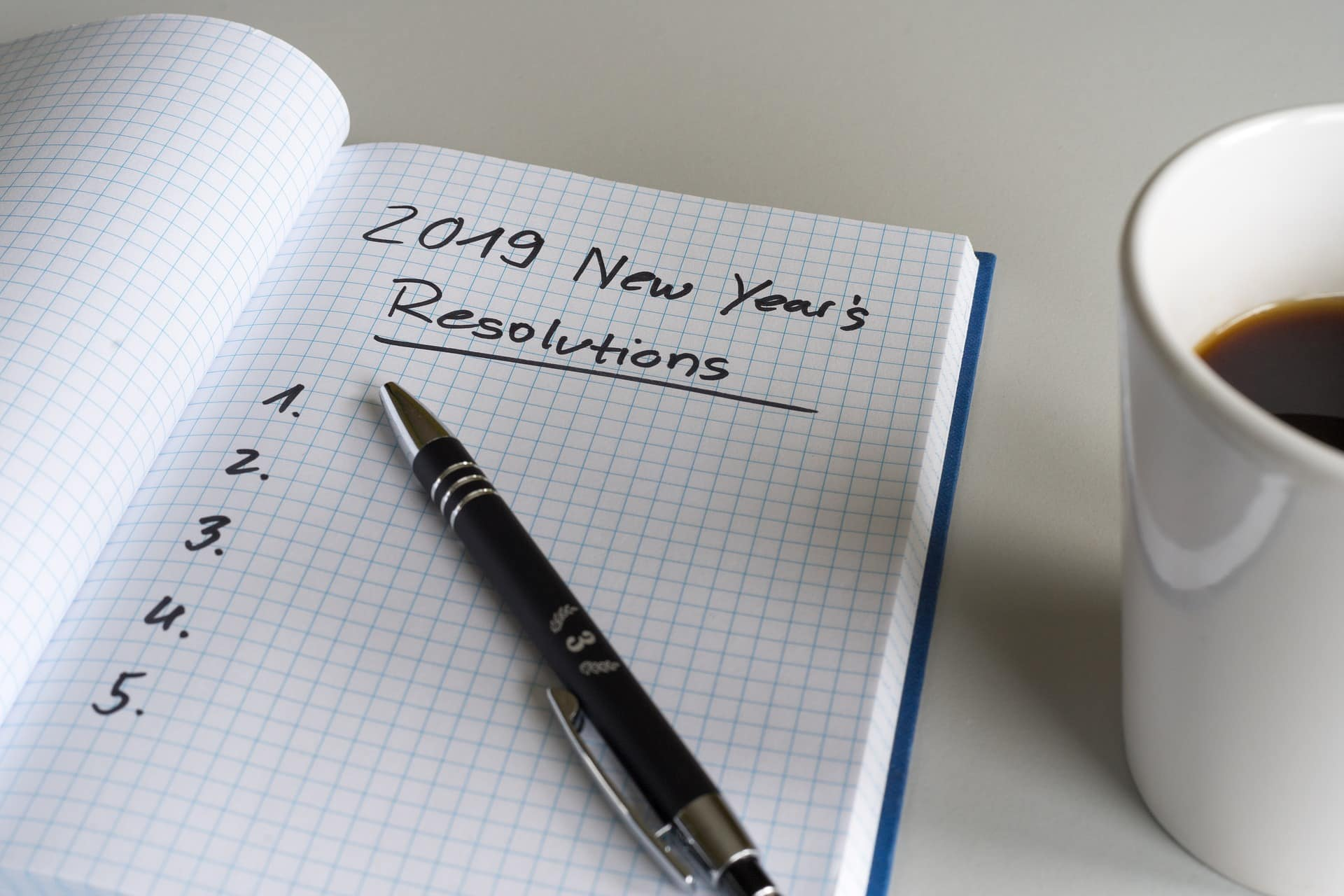 New Year Tax Resolutions