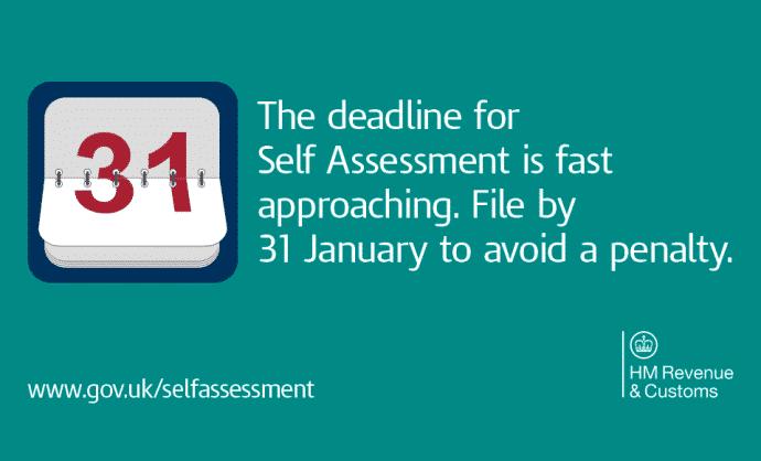 Self Assessment Deadline