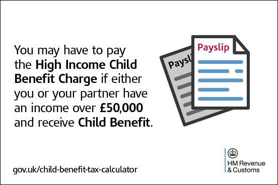 High Income Child Benefit Charge HMRC