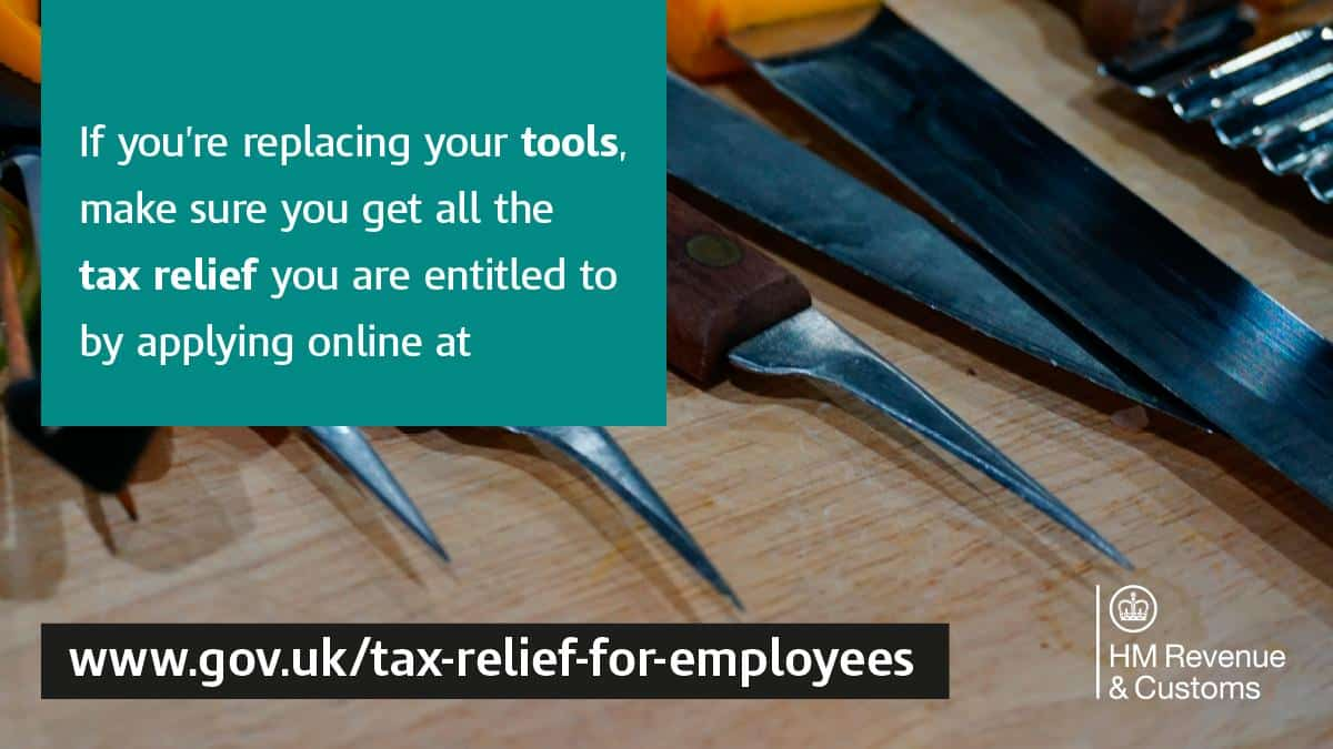 Tax relief for employees